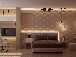 Квартира для молодой семьи: Спальни в . Автор – Epatage Design E
