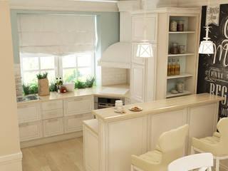 Квартира в ЖК Бригантина: Кухни в . Автор – Epatage Design E