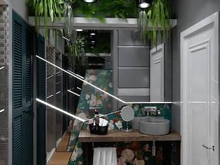 Дом в стиле LOFT: Ванные комнаты в . Автор – Epatage Design E