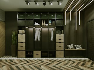 Дом в стиле LOFT: Коридор и прихожая в . Автор – Epatage Design E