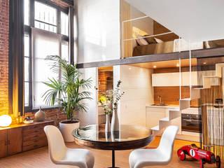 Living room by ESTUDIO DE CREACIÓN JOSEP CANO, S.L.,