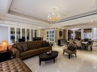 新古典-新板特區美宅 根據 鼎士達室內裝修企劃 古典風