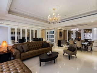 Classic style living room by 鼎士達室內裝修企劃 Classic