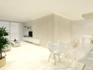 Gran Capitán Salones de estilo moderno de OC Arquitectura Moderno