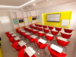 Estudios y despachos modernos de DETAY MİMARLIK MÜHENDİSLİK İÇ MİMARLIK İNŞAAT TAAH. SAN. ve TİC. LTD. ŞTİ. Moderno