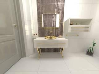 Modern Bathroom by DETAY MİMARLIK MÜHENDİSLİK İÇ MİMARLIK İNŞAAT TAAH. SAN. ve TİC. LTD. ŞTİ. Modern