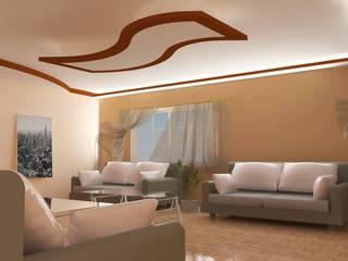 Salon Tasarımı 1 DETAY MİMARLIK MÜHENDİSLİK İÇ MİMARLIK İNŞAAT TAAH. SAN. ve TİC. LTD. ŞTİ. Asyatik Oturma Odası