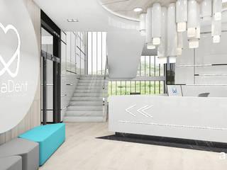 ARTDESIGN architektura wnętrz Clínicas de estilo moderno