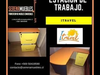 Implementacion oficina ITravel ,La serena de SerenaMuebles Moderno