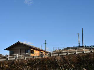 岐阜の石場建て: 水野設計室が手掛けた家です。,