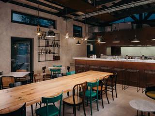 manuarino architettura design comunicazione Bars & clubs Iron/Steel Green