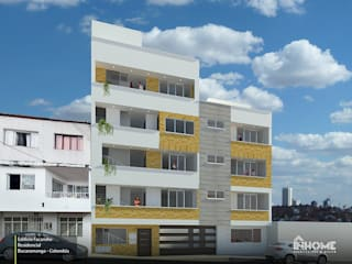 EDIFICIO FACARUHE: Casas multifamiliares de estilo  por INHOME , Moderno