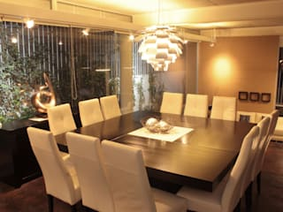Dining room by emARTquitectura