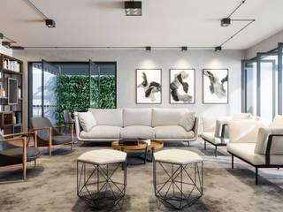 Sala de estar:   por Render 360 Ilustração Digital