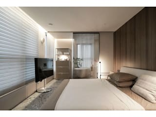 WITHJIS(위드지스) Small bedroom Aluminium/Zinc Brown