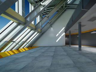 Proyectos de Construcción Industrial Casas de estilo moderno de GRUPO FHV Moderno