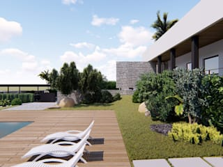 DFG Architetti Associati Jardin avant