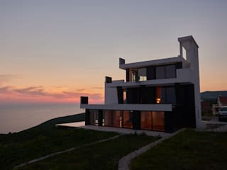 Proyectos de Construcción Residencial Casas de estilo moderno de GRUPO FHV Moderno