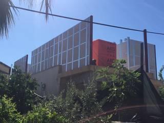 İlave Kat - Gazbetonlu Hafif Çelik Modern Evler MESKEN ÇELİK YAPI Modern