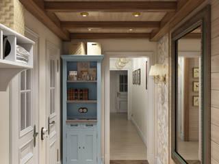 Kırsal Koridor, Hol & Merdivenler Zibellino.Design Kırsal/Country