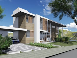 Projeto Boulevard Lagoa: Casas familiares  por Arus Associados Ltda.