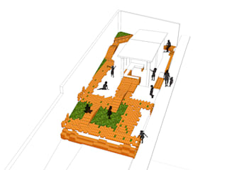 LAS FLORES 7.72  |Recuperando espacios y activando ciudadanía|:  de estilo  por Arq Stephanny Reyes