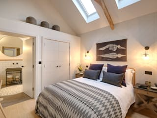 The Nook, Near Rock | Cornwall Perfect Stays Dormitorios de estilo escandinavo