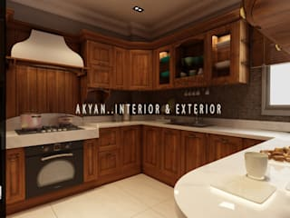 kitchen :   تنفيذ AKYAN