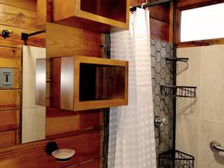 Cabaña YC:  de estilo  por Taller de Arquitectura Bioclimática +3d