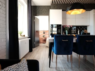 Otwarta kuchnia: styl , w kategorii Kuchnia zaprojektowany przez CD sign Dorota Chmielnicka