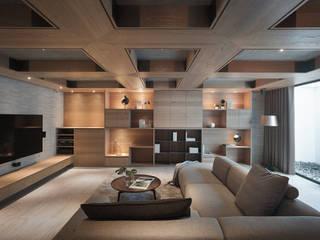 Moderner Multimedia-Raum von 形構設計 Morpho-Design Modern