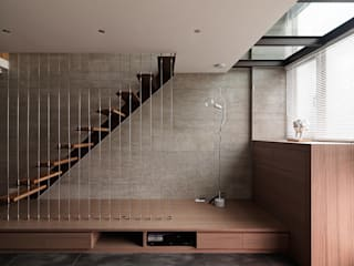 Cầu thang by 形構設計 Morpho-Design