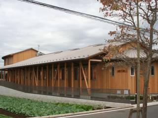 (有)クエストワークス一級建築士事務所 Clinics Wood Wood effect