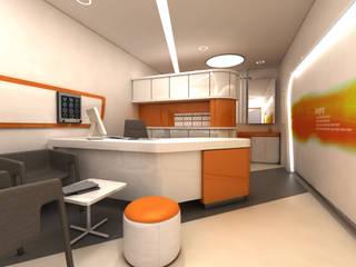 ANTE MİMARLIK Hospitales de estilo moderno Beige