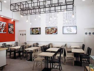 manuarino architettura design comunicazione Bars & clubs Iron/Steel Red