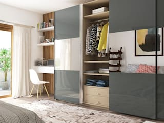 Design Wardrobe : modern  by KM Furniture Solutions Pvt Ltd,Modern