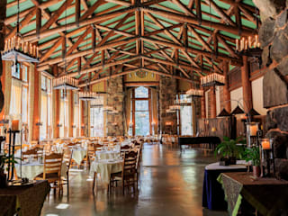 Vigas / Barrotes: Salas de jantar  por Grupo Corpe