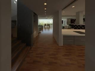 AVANT | PROYECTOS Pasillos, vestíbulos y escaleras modernos de AVANT PROYECTOS Moderno