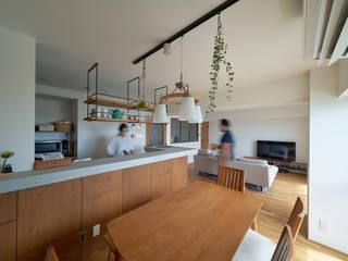 眺望を楽しみながら暮らすマンションリノベーション: G-FLAT株式会社(ジーフラット)が手掛けたです。