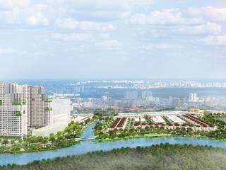 Dự án Senturia Nam Sài Gòn Tiến Phước Bình Chánh:  Khu Thương mại by Senturia Nam Sài Gòn