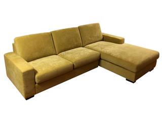 Decordesign Interiores SalasSalas y sillones Textil Amarillo