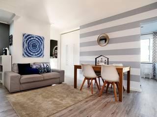 apartamento monte estoril: Salas de estar  por soulplace