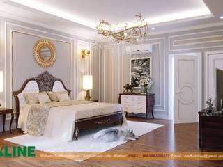 Báo giá thiết kế  nội thất chung cư tại Xline:  Phòng ngủ nhỏ by NỘI THẤT XLINE