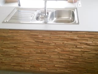 Home Recover Kitchen units Wood effect