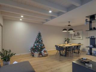 2P COSTRUZIONI srl 现代客厅設計點子、靈感 & 圖片