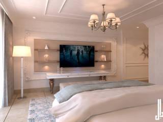 Private apartment Phòng ngủ phong cách kinh điển bởi dal design office Kinh điển