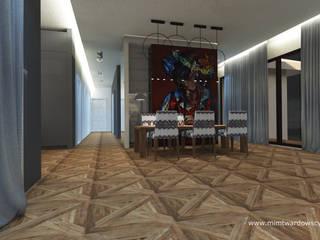 DOM interior: styl , w kategorii  zaprojektowany przez Pracownia Projektowa MiM Twardowscy