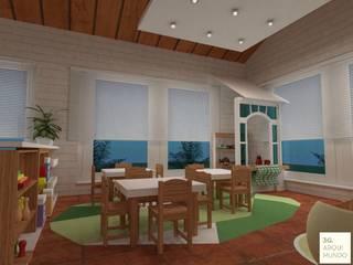 Sala de clases niños pequeños:  de estilo  por Arquimundo 3g.