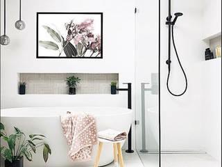 Baños 2 Baños de estilo moderno de NRN diseño de interiores Moderno