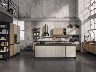 Cucina modulo 01: Cucina attrezzata in stile  di nuovimondi di Flli Unia snc